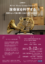 第2回 Music Science Seminar